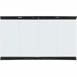 Bi-Fold Glass Doors | Black Trim
