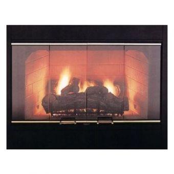 36 inch Marco Bi-Fold Fireplace Door