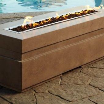 Gas Fire Pit Burner | Linear