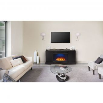 "Cinema 27"" Electric Anya Fireplace Package"