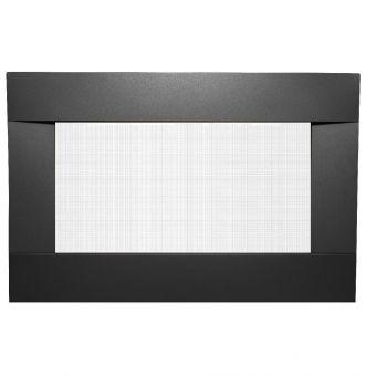Decorative Black Surround with Safety Barrier