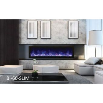"Amantii 60"" Slim Electric Fireplace"