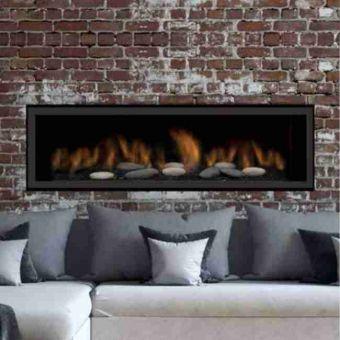 "Sierra Flame Austin 65"" Deluxe Gas Fireplace"