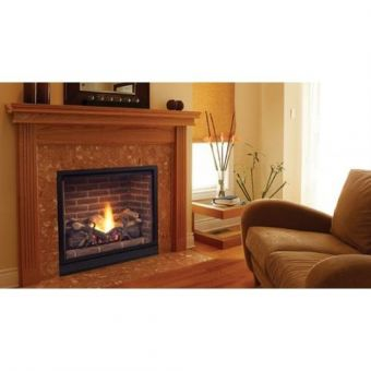 Majestic Soliataire Gas Fireplace