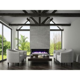 "Amantii 72"" TruView Electric Fireplace"
