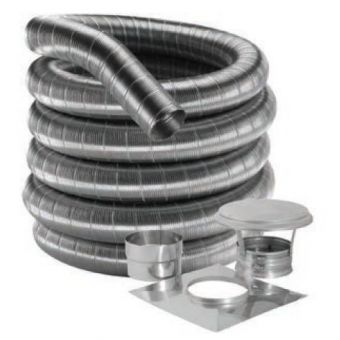 "Flex Chimney Liner Kit | 6"" X 15'"