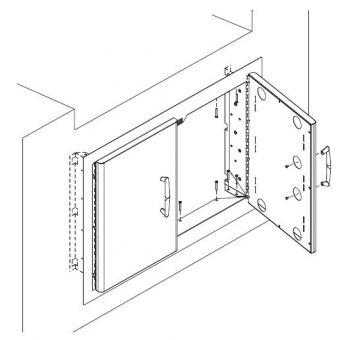 Vermont Castings 301 Double Door Kit
